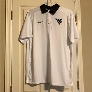 West Virginia University Nike Polo